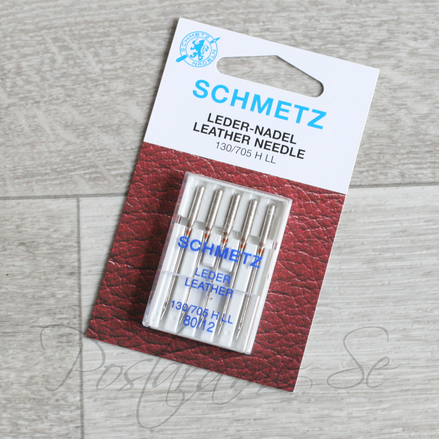 Schmetz leather 80